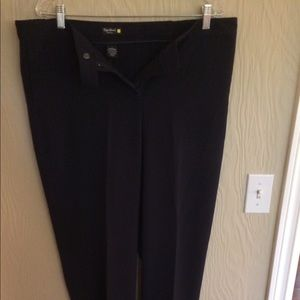 Dark navy trousers